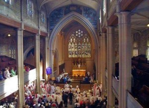 Service at St Mary's church
