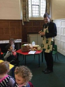 Fr. Peter explains the true meaning of Hot Cross Buns - Holy Saturday 2016